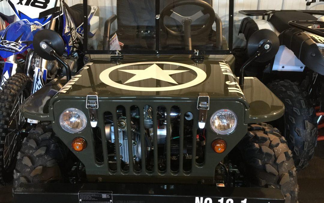 Youth Military 4 Wheel ATV Ohio